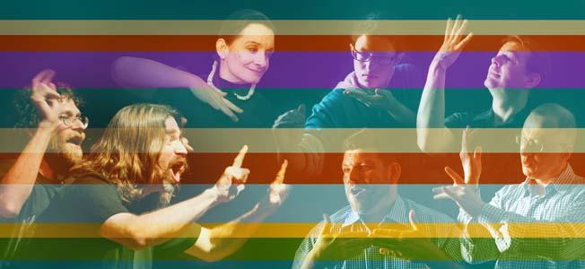 Seven sign language poets